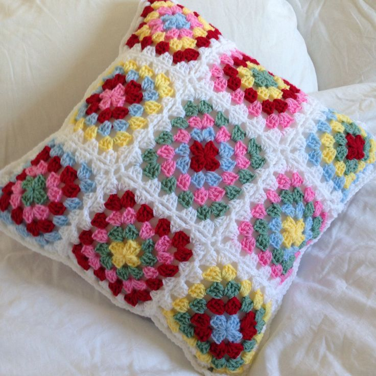 Cushion in Cath Kidston colours