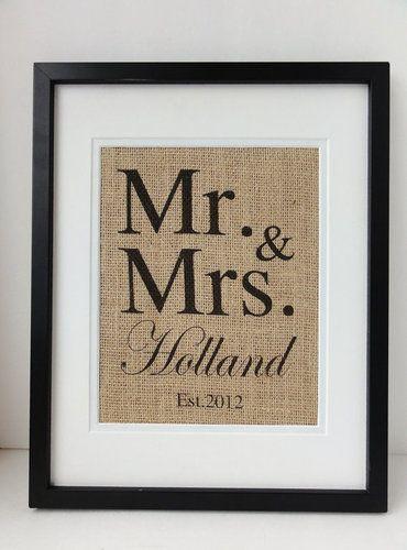 Great wedding gift!