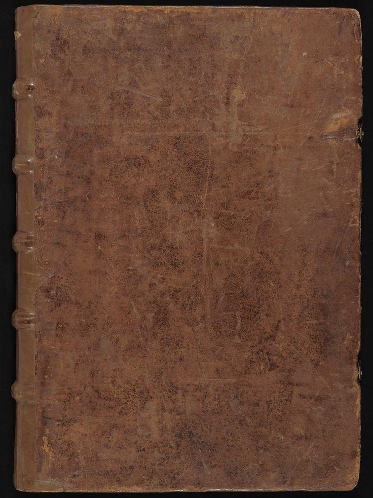 Tapa de la Biblia de Gutenberg / Soporte: Piel de vaca / Fecha de creación: 1454 d. C.-1456 d. C. / Volumen 1: 324 páginas Título : Génesis-Salmos / Institución: Biblioteca Estatal de Baviera - Alemania