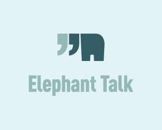 logo design: elephants