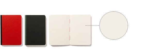 taccuino n.3 Taccuino con pagine bianche in carta uso mano di qualità superiore. Pura cellulosa a fibre lunghe per una perfetta tenuta degli inchiostri. Legatura bodoniana in carta editoriale anti-impronta, dorso in tessuto e cucitura a filo refe rosso. collezione: scrittura dimensioni: 10·14,5 cm copertina: rigida rilegatura: dorso in tela tipo di pagine: bianche n. di pagine: 128 grammatura: 85 gr colori: rosso, nero