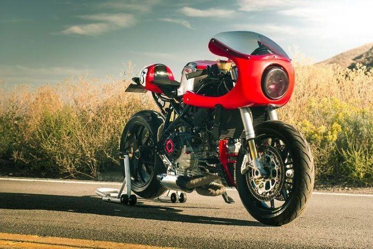 2003 Ducati 749 Custom Ducati 749, Cafe racer motorcycle