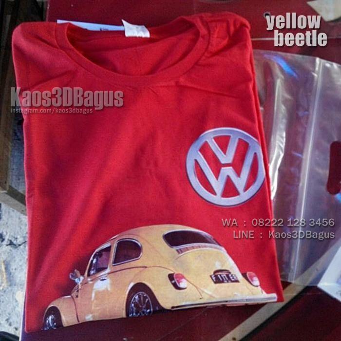 Kaos VW KODOK, Kaos VW Beetle, Kaos3D, Kaos Mobil Klasik, VW Club Indonesia, Volkswagen Car, Komunitas Mobil VW, https://kaos3dbagus.wordpress.com, WA : 08222 128 3456, LINE : Kaos3DBagus