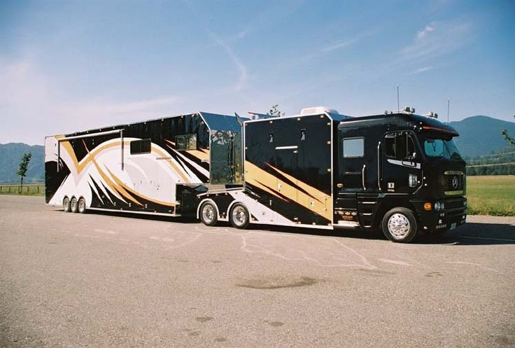 Now that's a motor home...
