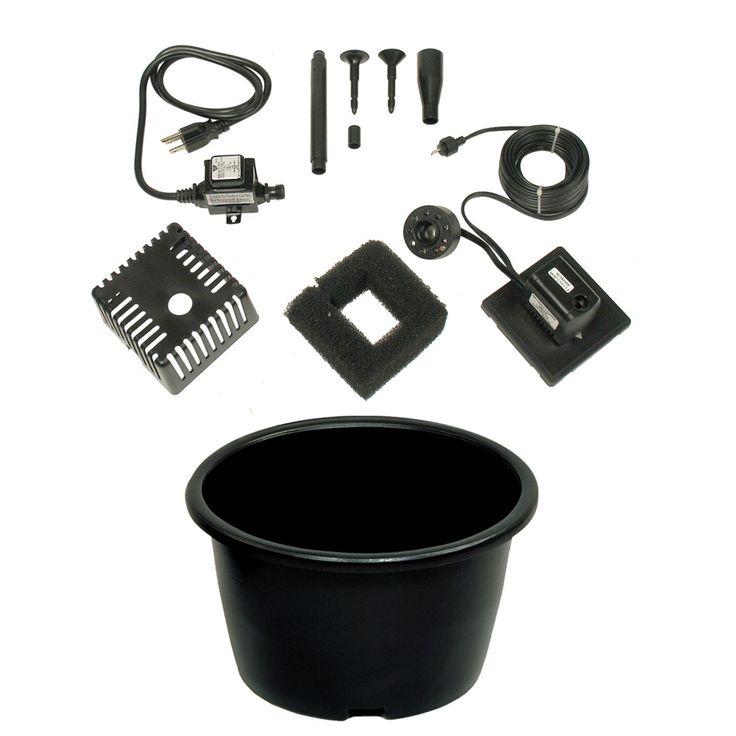 patio pond kit