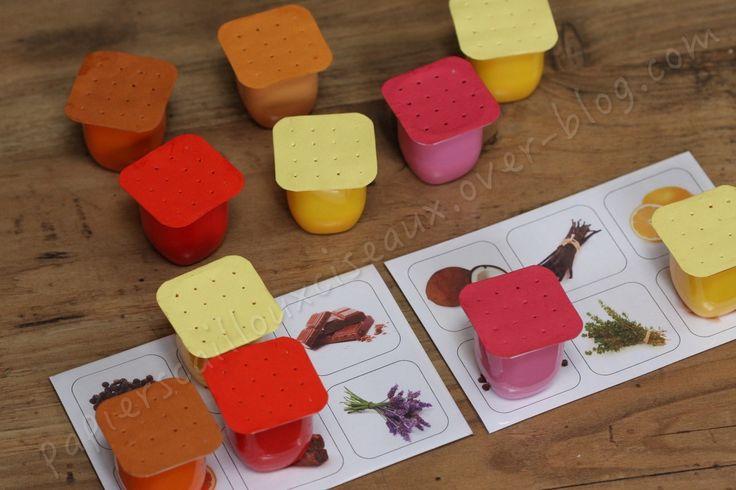 Cette semaine, c'est la semaine du goût. Pour l'occasion, j'ai préparé un petit jeu pour les enfants. Bon, le but ne sera pas de manger et de faire fonctionner leurs petites papilles mais de sentir et de reconnaitre l'odeur des ingrédients présents dans...