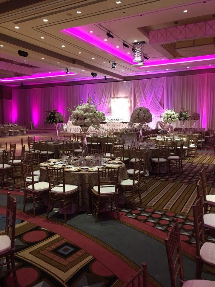 Wedding Venue Table Dcor At Caesars Windsor Hotel Casino