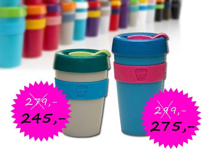 Každý den 1 nový produkt v Akci na Facebooku, sledujte nás!  Pokud do poznámky v objednávce zadáte kód: FACEBOOKSLEVA, Cena hrnečku Keep Cup Capuccino pro vás bude 245,- Kč a hrnečku Keep Cup velikosti Latté pro vás bude 275,- Kč  Více zde: http://www.buydesign.cz/vyrobce/keep-cup/