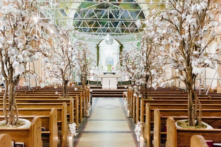 A blush ceremony #blush #weddingday #wood #ceremony #wedding #couple #decor #details #flowers #trees #bloom #venue