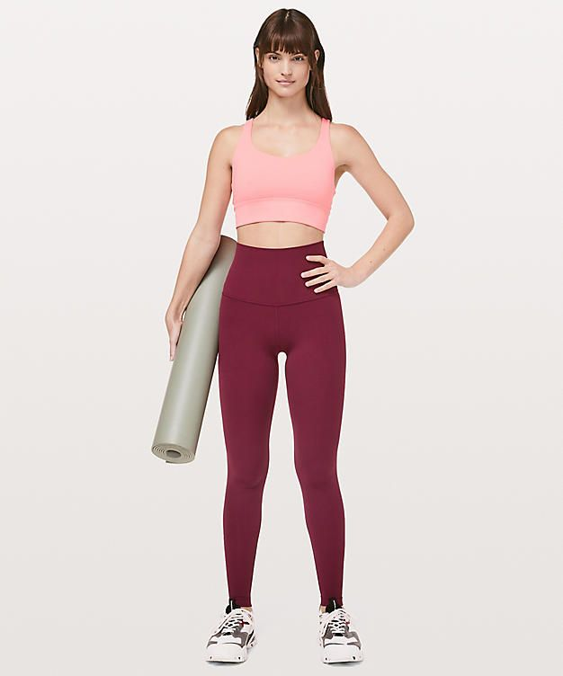 7c9eadfb14335 ... you the extra boost of coverage (and courage!) you need when you're  stretching your limits. Luon fabric is sweat-wicking and four-way stretch.  Wide ...