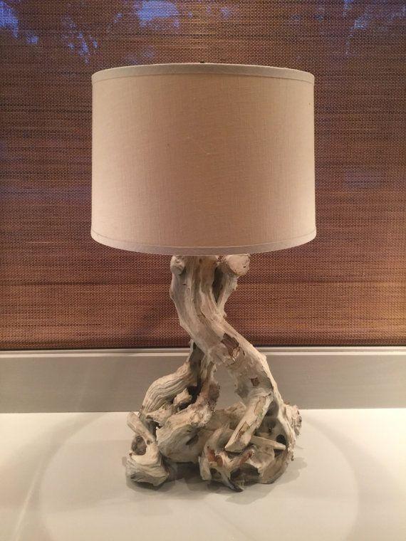 Mid Century Driftwood Lamp by MidModGlam on Etsy