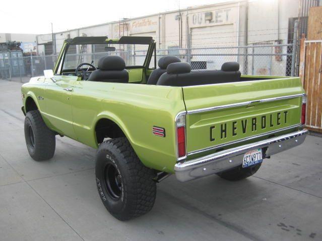 Lime Green - 72 Blazer