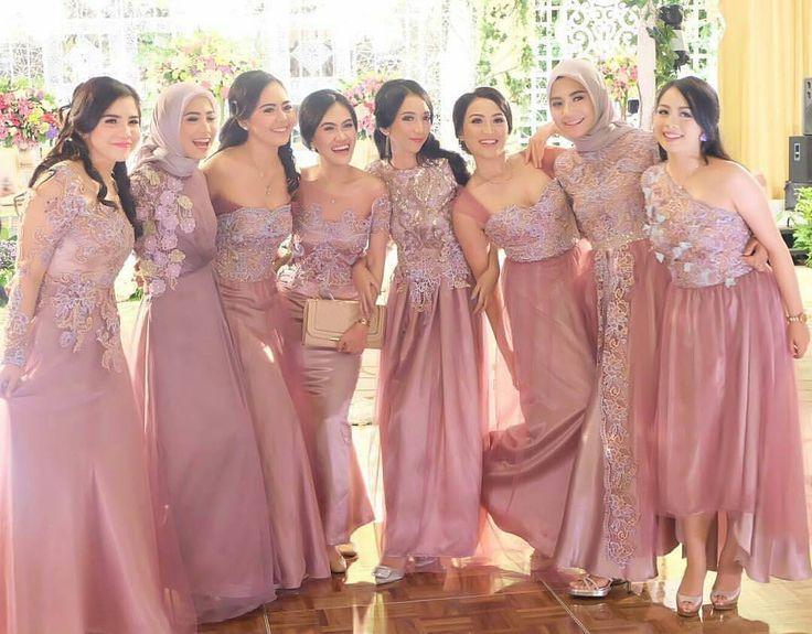 bridesmaid inspiration by ameliapungky kostum kondangan