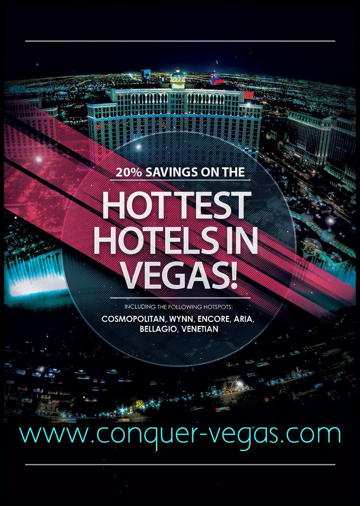 Save Big $$$ on your next trip to Vegas! Remember, what happens in Vegas, starts with Conquer Vegas!  http://www.conquer-vegas.com