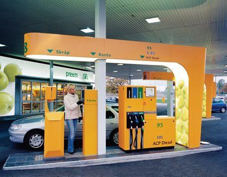 Nearest Service Station >> Petrol Pump Station As Architecture Petrol Forecourt Designs