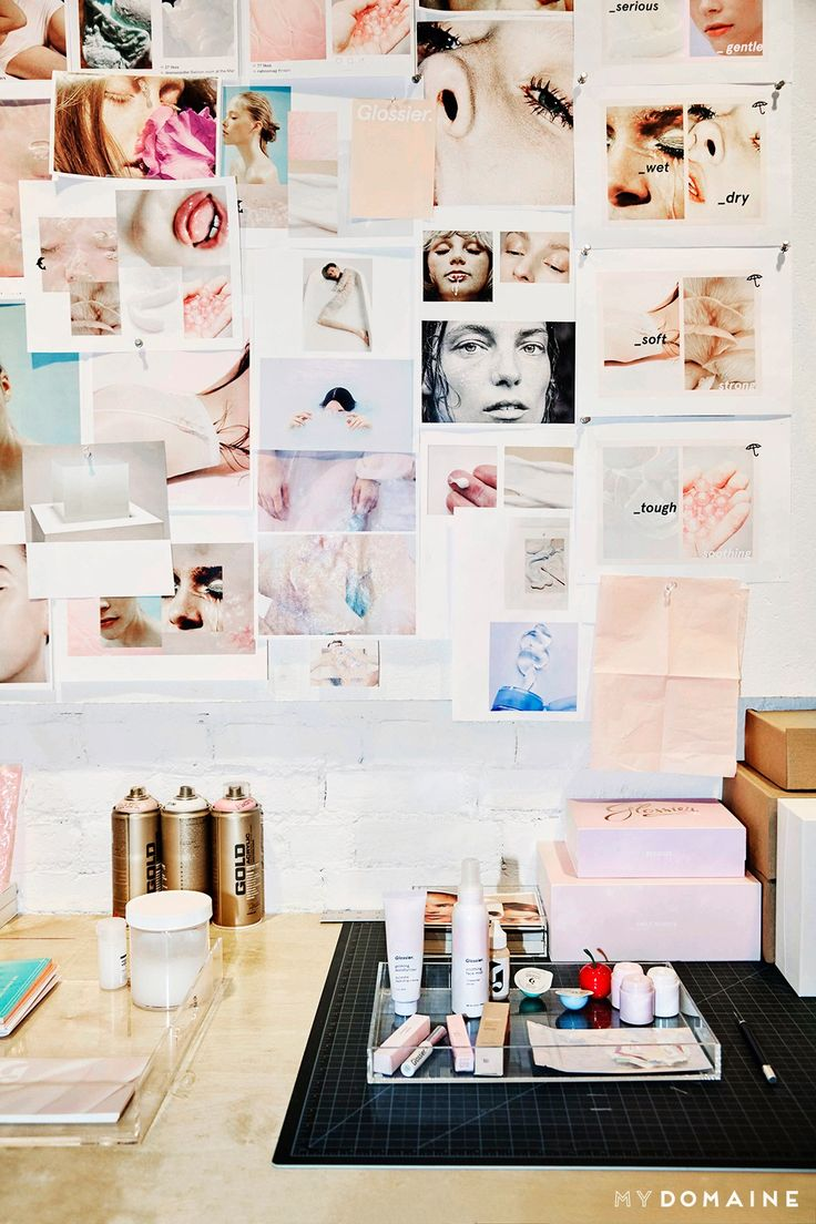 Inside Emily Weiss's Inspiring New Office Space via @MyDomaine