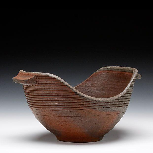 Schaller Gallery : Exhibition : Joe Singewald : Large Handled Bowl