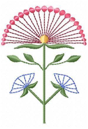 Just Geometric Flowers