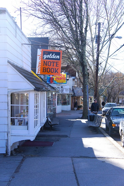 Tinker Street, Woodstock, NY by Village Green Realty, via Flickr - The Golden Notebook was my favorite book store when we went camping at Wilson Park.