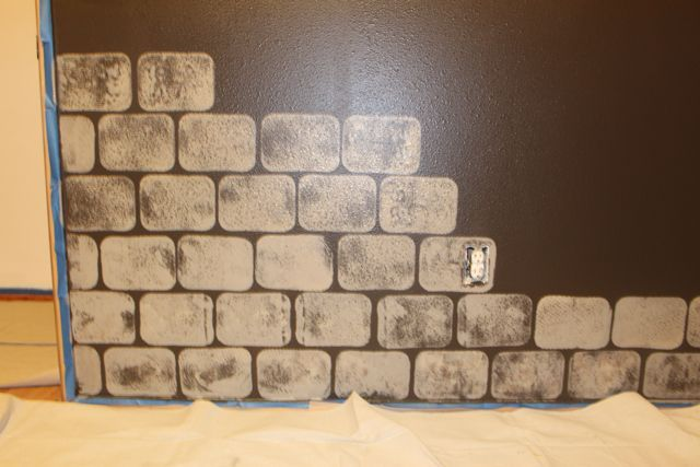 another tutorial on painting castle walls