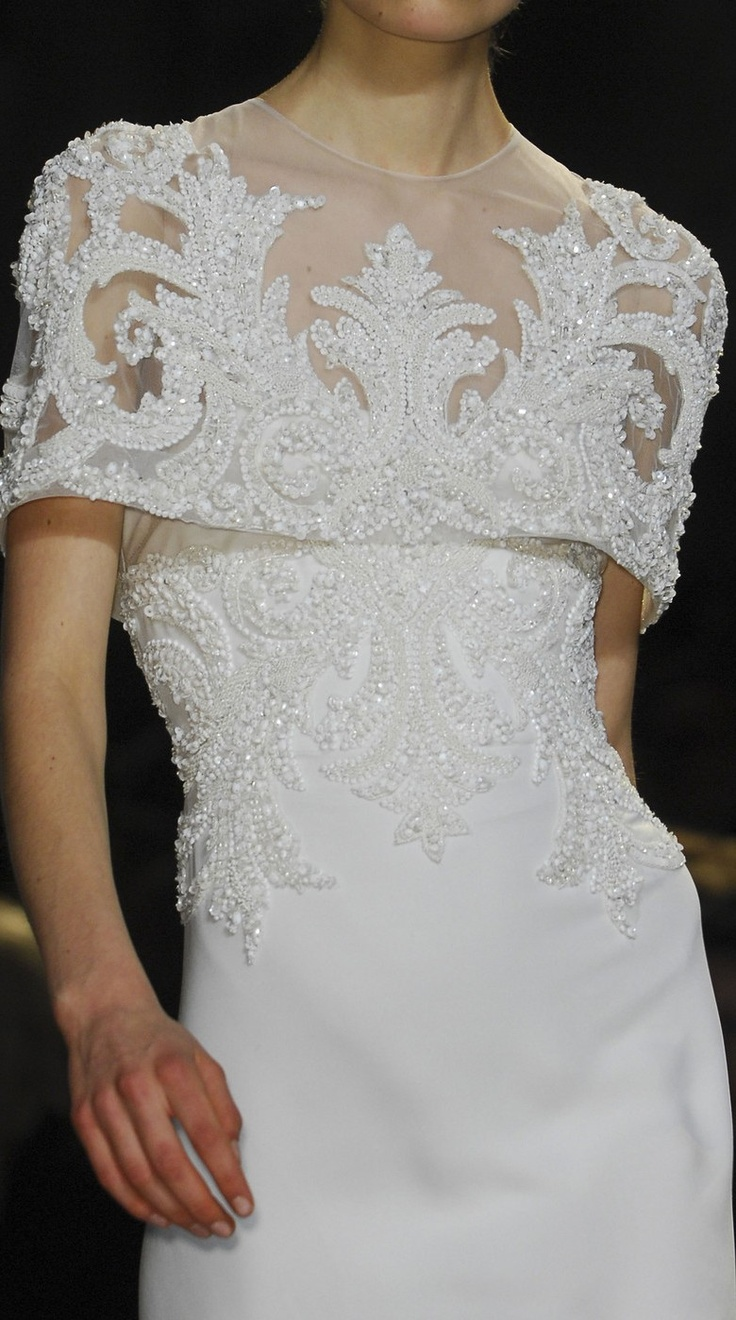 Elie Saab spring 2013 couture details ♥✤ | Keep the Glamour | BeStayBeautiful