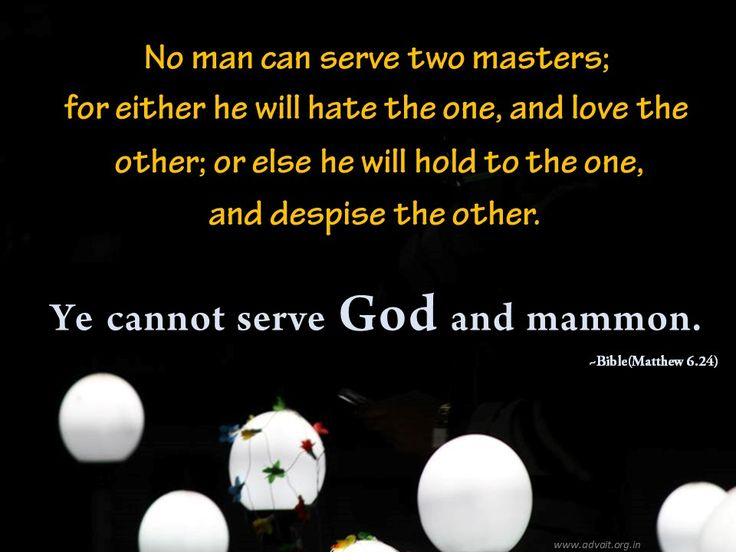 No man serve two masters; for either he will hate the one, and love the other; or else he will hold to the one, and despise the other. Ye cannot serve God and mammon  ~ Bible(Matthews 6.24) #ShriPrashant #Advait #bible #jesus #god #ego #cunningness #greed #love Read at:- prashantadvait.com Watch at:- www.youtube.com/c/ShriPrashant Website:- www.advait.org.in Facebook:- www.facebook.com/prashant.advait LinkedIn:- www.linkedin.com/in/prashantadvait Twitter:- https://twitter.com/Prashant_Advait