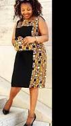 """Résultat de recherche d'images pour """"modèle de pagne ivoirien robe"""""""