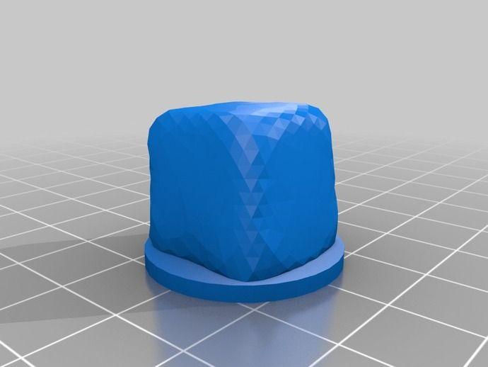 Gelatinous Cube 25mm by evanfarrar - Thingiverse