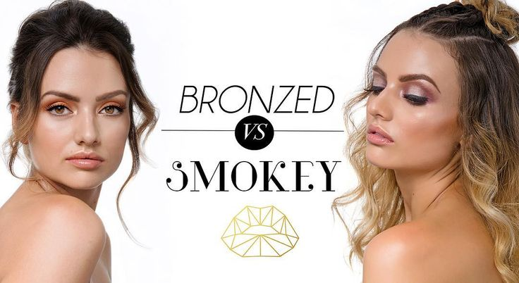 ⬅️ LEFT OR RIGHT ➡️ What's your style? Toned down and Bronzed or a plummed up Smokey?? • • • Book your appointment online at www.atikbeauty.com.au