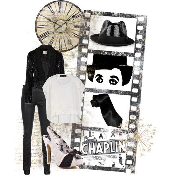 charlie chaplin style @thegirlbackstage