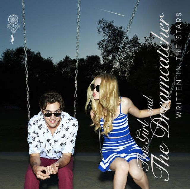 The Girl and the Dreamcatcher-Written in the Stars. Dove Cameron and Ryan Mccarten.