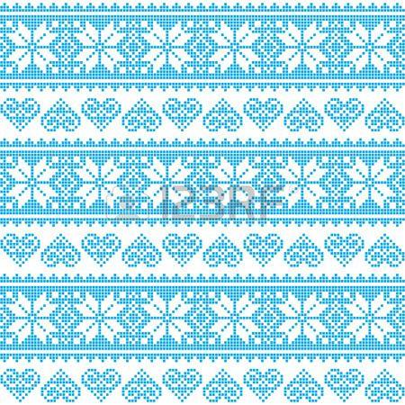 Зима, Рождество Бесшовные Неровной Синий узор с сердцем Royalty Клипарты, векторы, и Набор Иллюстраций. Изображение 30742659.