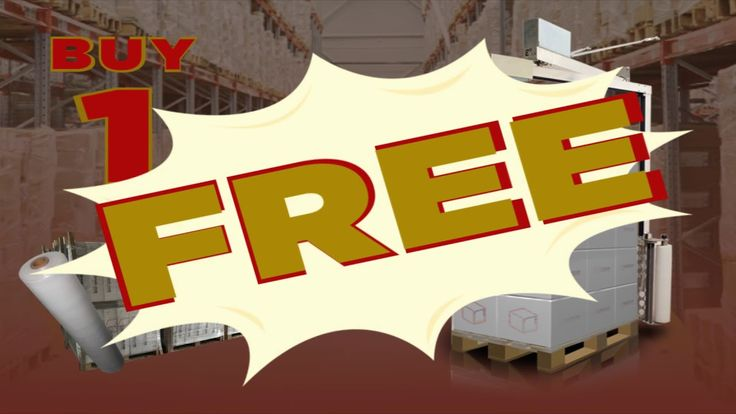 E3 Wrap 2100 for FREE - Black Friday Deal - Free Pallet Wrapper