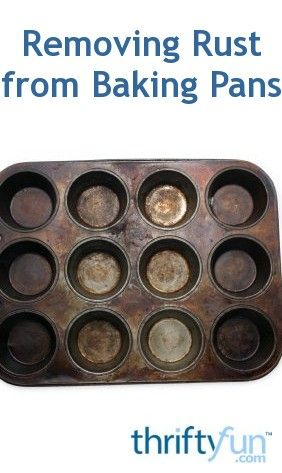 Have your favorite baking pans started to develop rusty spots? This happens to older, well used pans. Rather than throw it away you may want to try cleaning it. This is a guide about removing rust from baking pans.
