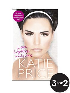 Love Lipstick and Lies- Katie Price Book