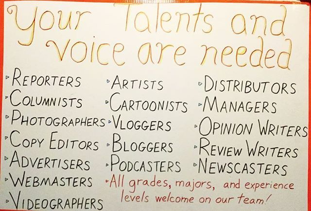 Your talents and voice are needed! If you have any of these skills, the Otter Realm is a massive outlet to display and develop your talents. Don't have newspaper experience? No problem, as we're hosting Journalism Boot Camps starting in July. Message us to join the team and get in on the summer boot camps . 🌎 #csumb #csu #calstate #monterey #831 #studentnews #newspaper #college #university #montereybay #news #journalism #collegenews #newspaper #montereybaylocals - posted by Otter Realm…