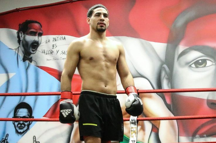 Danny Garcia's workout before fight with Keith Thurman | Newsday