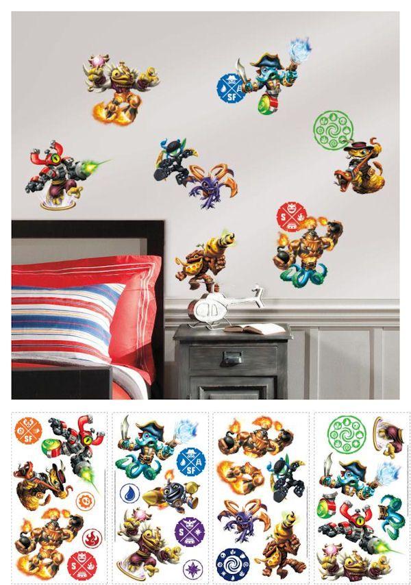 Skylanders Swap Force Wall Decals   Wall Sticker Outlet
