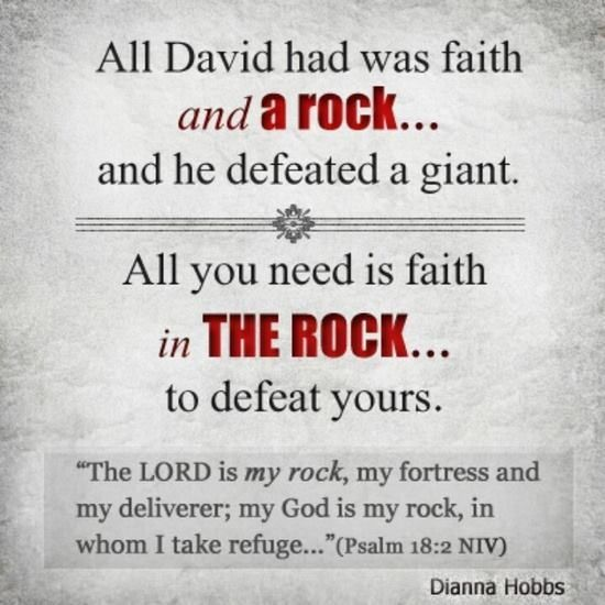 all you need is faith in THE Rock <3: