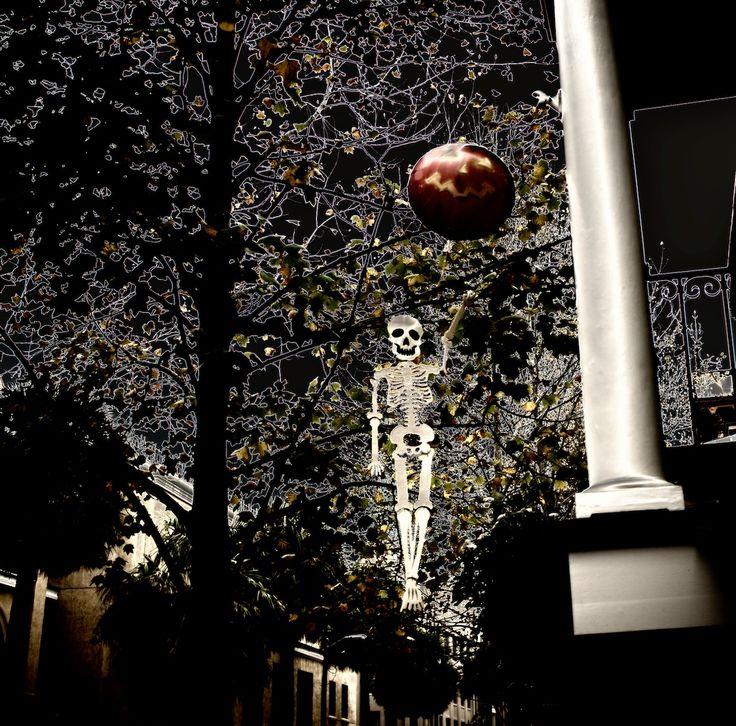 Happy Halloween from haunted Savannah, GA!