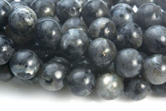 black labradorite beads labradorite gemstone beads by SelectBeads