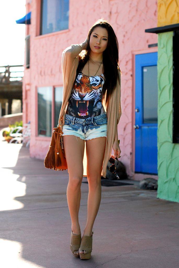 Tiger Swimsuit Black Milk Clothing Shorts Pacsun