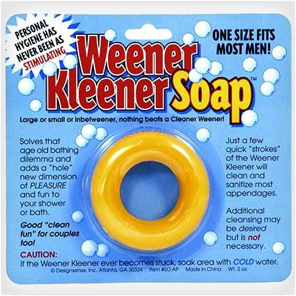 Weener Kleener Soap..seriously hahahaha                                                                                                                                                                                 More