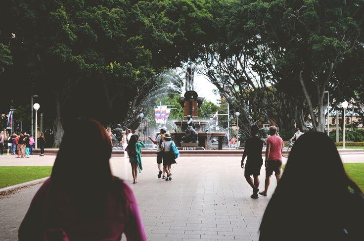 Sydney  Archibald Fountain Hyde Park Travel