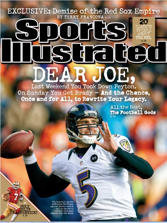 dear joe check out joe flacco and the ravens on this weeks regional cover http