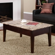 SO convenient! this coffee table top lifts up to unveil some storage space!!!