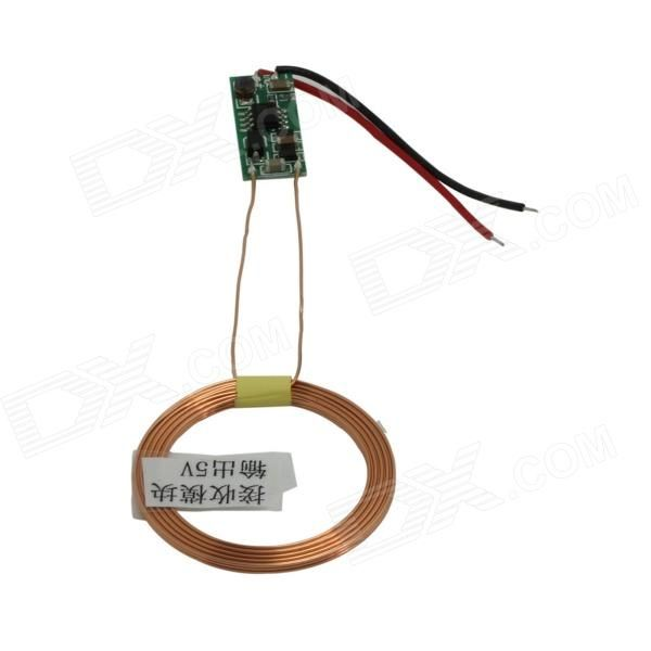 TENYING DIY Wireless Charging Receiver / Wireless Charging Module (DC 5V). Adopts two copper wire coil superposition to active the wireless charging module; Safe and stable electric circuit design; Great for you to DIY a wireless charger. Tags: #Electrical #Tools #Arduino #SCM #Supplies #Transmitters #Receivers