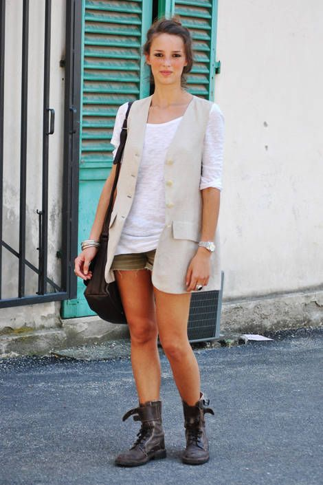 Italian Street Fashion - Summer 2011 Milan Italy Street Fashion - Elle
