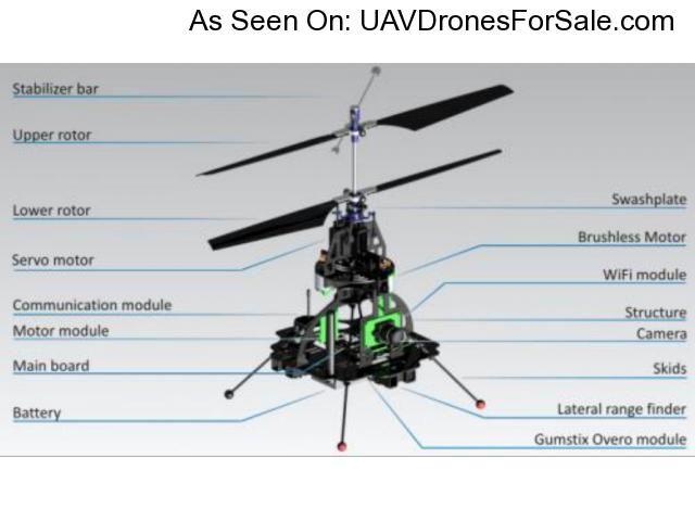 Skybotix CoaX Autonomous UAV Micro Helicopter Drone WIFI Camera Included Uavdronesforsale Indexphppageitem72