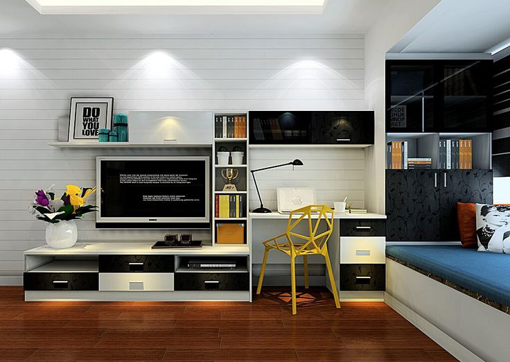 TV-cabinet-and-computer-desk-combination-for-bedroom.jpg (1022×725)